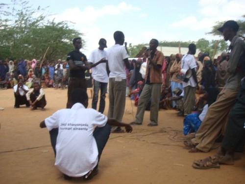 Men against FGM - skit 16 Days 2008