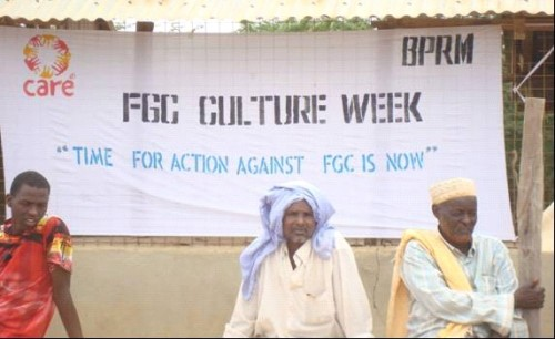 Men and boys involved in campaigns against FGM in Dadaab camps