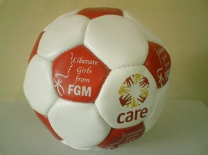 Soccer ball used to sensitize boys on FGM through participation in sports